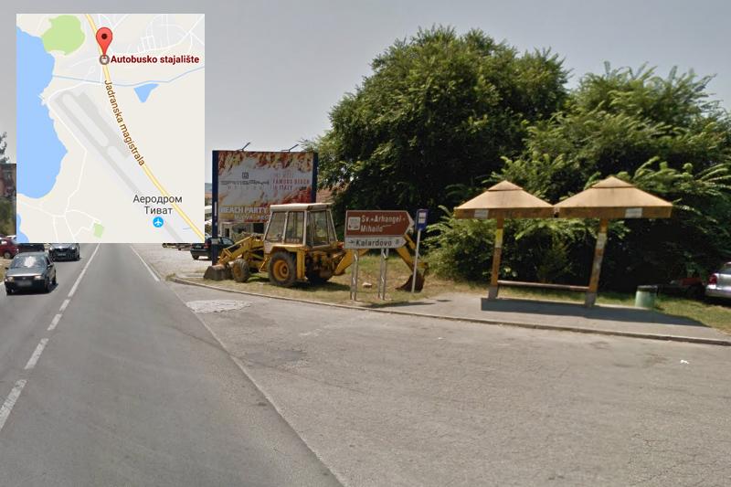как добраться до аэропорта Тиват